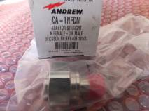 ANDREW CA TNFDM ADAPTOR STRAIGHT N FEMALE